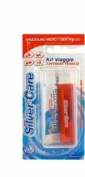 PIAVE SilverCare Toothbrush and Toothpaste Travel Kit- MADE IN ITALY