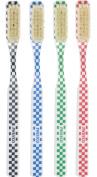 Swissco ToothBrush Natural Bristle Medium, 3-Count Pack