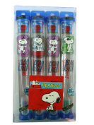 Snoopy Toothbrush (4 Pack) - 4 Pack Snoopy Toothbrush