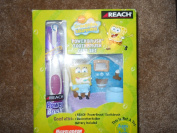 SPONGEBOB SQUAREPANTS POWERBRUSH TOOTHBRUSH GIFT SET