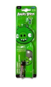 "ANGRY BIRDS ""TURBO POWER"" BATTERY POWERED TOOTHBRUSH GREEN PIG BATTERY INCLUDED"