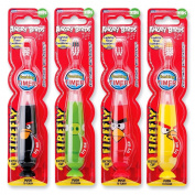 Angry Birds Light up Timer Toothbrushes - Assorted Colours - 24 Per Pack
