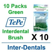 TePe InterDental Brushes Green - 10 Packets
