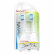 Walgreens Replacement Brush Heads, 2 ea