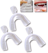 Tooth Teeth Whitening Whitener Bleaching D.I.Y. 3 Trays & free tray case