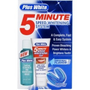 Plus White Whitening System, 5 Minute Speed, Original Flavour