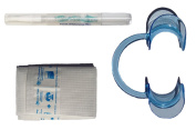 Teeth Whitening Pen Kit with Non-peroxide Whitening Pen, Cheek Retractor and Bib
