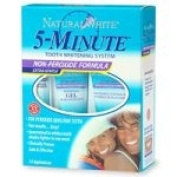 Natural White 5-Minute Tooth Whitening System, Non-Peroxide Formula - 1 kit