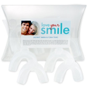 "Love Your Smile - ""THE ORIGINAL WARM-TO-FIT TEETH WHITENING TRAYS"""