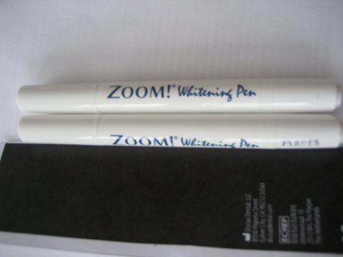 zoom whitening pen instructions