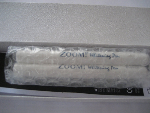 zoom whitening pen instructions