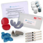Professional Custom Teeth Tooth Whitening Trays. Includes 4 XL 10cc Syringes of 16% Gel. Order Lab Direct and Save! FDA approved materials! Made in USA!