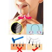 Facial Hair Epilator Remover Tool for Face Clean-Colour Random