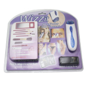 Wizzit Body Hair Remover Auto Trimmer Tweezer Epilator Manicure Set With Package