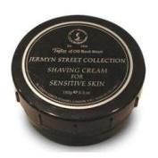 Taylor of Old Bond Street Jermyn Street Luxury Shaving Cream for Sensitive Skin, 160ml