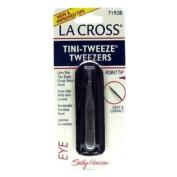 La Cross by Sally Hansen Tini-Tweeze Tweezers Point Tip # 71928 - 3 Tweezers