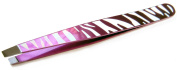 Precision Beauty Safari Slanted Tweezer, Assorted Colours