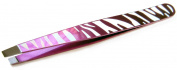 Precision Beauty Safari Slanted Tweezer, Assorted Colours
