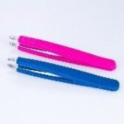 Belvada Silicone Grip Tweezers - Blue Shell