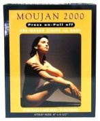 Moujan 2000 Press-on Pull-off Pre-waxed Strips for Body