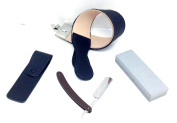 GBS 4 Pc Straight Razor Shaving Kit