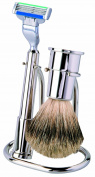 Extra Quality Shaving Set with Best Badger Brush. Made by ERBE in Solingen, Germany