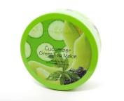 My Scented Secrets Green Tea Body Butter Jar, Cucumber Melon, 210ml