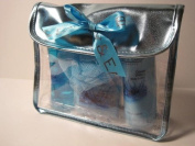 Ocean Waters Bath Set, Shower Gel/Body Lotion/Bath Salts/Puff Sponge/Tote