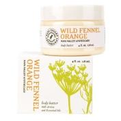 Olivina Hand & Body Butter - Wild Fennel & Orange, 120ml Jar