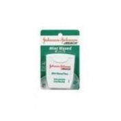 Johnson and Johnson Mint Waxed Dental Floss, 100 Yard -- 6 per case.