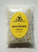 White Beeswax Bees Wax Organic Pastilles Beards Pure 60ml