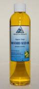 Mustard Oil Unrefined Organic Carrier Cold Pressed Pure 240ml