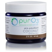Ozonated Coconut Oil Skin Emollient PurO3 60ml Cream