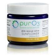 Ozonated Skin Rescue Salve Sunflower Oil PurO3 60ml Cream
