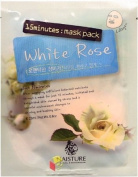 Naisture 15 Min. Collagen Essence Facial Mask Sheet Pack - White Rose 10pk