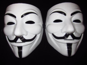 V For Vendetta Mask Guy Fawkes Carnival Costume Masquerade