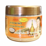 Isme Rasyan Thanaka Tanaka Powder 100% for Anti Acne & Reduce Melasma Natural Herbal 50g