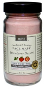 Organic & Natural Facial Mask - Smoothing Hydrating Brightening - Strawberry