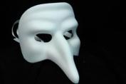 NEW Laser Cut Mediaeval Plague Doctor Inspired Design Halloween Mask - White
