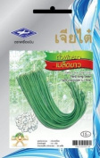 Yard Long Bean (Thai Long Bean) (90 Seeds) White Seeds - 1 Package From Chai Tai, Thailand