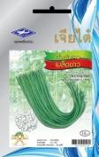 Yard Long Bean (Thai Long Bean) (90 Seeds) White Seeds - 1 Package From Chai Tai, Thailand