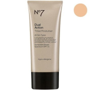 No7 Dual Action Tinted Moisturiser Fair