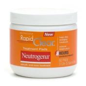 Neutrogena Rapid Clear Daily Treatment Pads Salicylic Acid Acne Treatment, Maximum Strength 60 pads