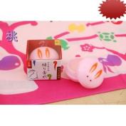 Bunny Solid Perfume (Peach) Usagi Manju : Kyoto Bath & Body !!