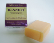 BENNETT EXTRA WHITE Anti-Oxidant Alpha Arbutin Extreme Whitening Soap 130g/140ml