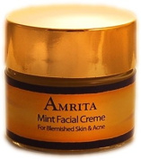 Mint Facial Creme for Blemished Skin & Acne