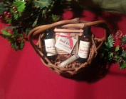Medium weaved Gift Basket