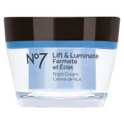 Boots No7 Lift & Luminate Night Cream - 50ml