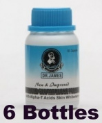 Dr. James Advanced Glutathione Skin Whitening Formula 1000mg 6 Bottles