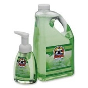 Genuine Joe : Antibacterial Foaming Hand Soap, Pump Bottle, 240ml -:- Sold as 2 Packs of - 1 - / - Total of 2 Each